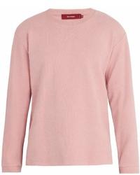 Sies Marjan Crew Neck Cotton Blend Chenille Sweatshirt