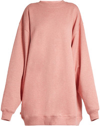 Acne Studios Yanin Oversized Cotton Jersey Sweatshirt