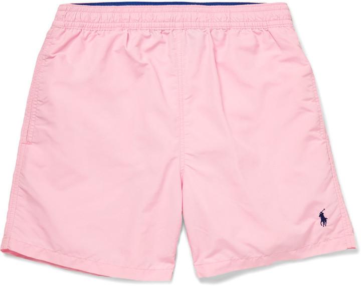2dff20383bc6 ... Polo Ralph Lauren Hawaiian Mid Length Swim Shorts ...