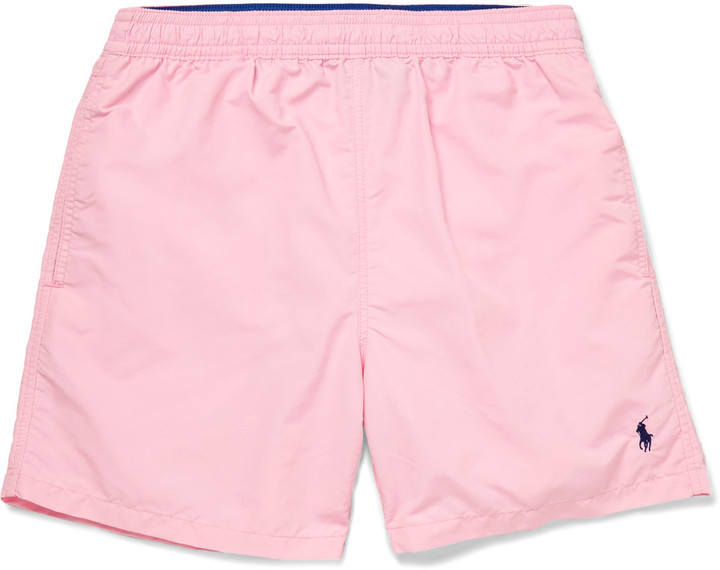 ... Polo Ralph Lauren Polo Ralph Lauren Hawaiian Mid-Length Swim Shorts