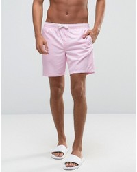 c7719d4aeb Asos Brand Swim Shorts 2 Pack In Pink And Flamingo Print In Mid Length Save  17% Out of stock · Asos Swim Shorts In Pink Mid Length