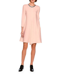 Emily swing dress with falabella chain rose medium 3746198