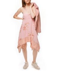 Free People Faded Bloom Swing Dress