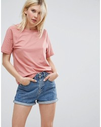Asos Boyfriend T Shirt With Wide Sleeve