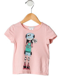 Little Marc Jacobs Girls Printed T Shirt