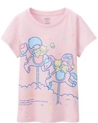 Girls Sanrio Short Sleeve Graphic T Shirt