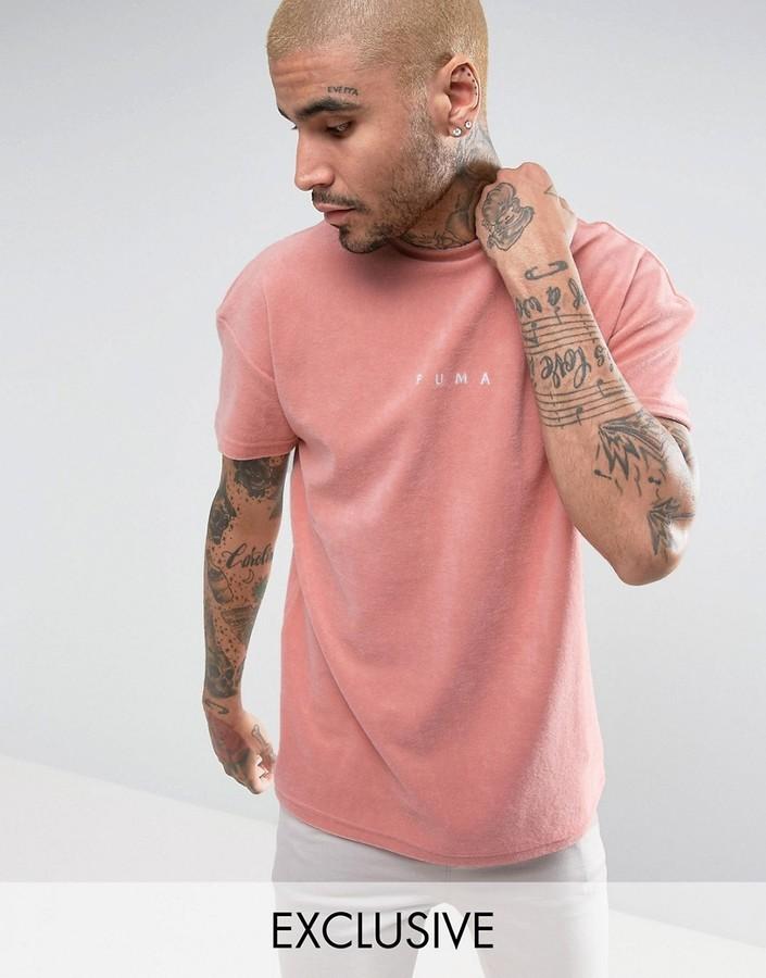 19ef6139f94 Puma Towelling T Shirt In Pink To Asos 57533306, $42   Asos ...