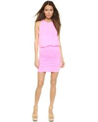 Pink Tank Dress