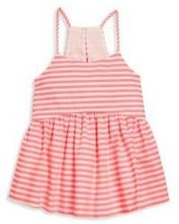 Milly Minis Girls Neon Stripe Strappy Tank Top