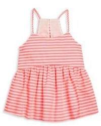Milly Minis Toddlers Little Girls Neon Stripe Strappy Tank Top