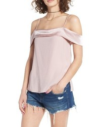 WAYF Point Break Cold Shoulder Top