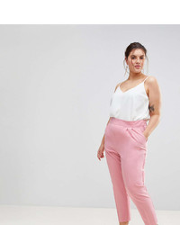 Asos Curve Curve High Waist Tapered Pants