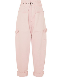 Isabel Marant Inny Cotton Tapered Pants