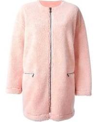MSGM Textured Zipped Coat