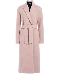 MSGM Textured Wool Mohair Coat