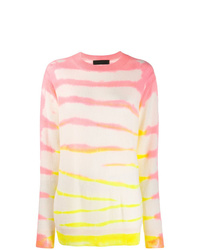 The Elder Statesman Tie Dye Style Jumper