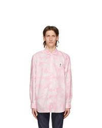 Polo Ralph Lauren Pink And White Laguna Shirt