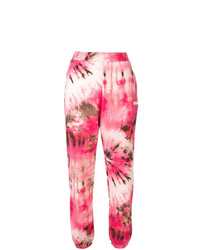 MSGM Tie Dye Jogging Trousers