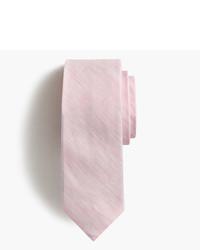 J.Crew Irish Linen Cotton Tie In Solid