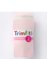 Girls Trimfit 3 Pk Opaque Tights
