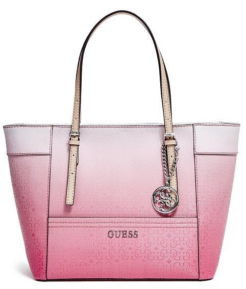 $88, GUESS Delaney Ombre Small Classic Tote