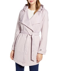 Bernardo Hooded Trench Coat