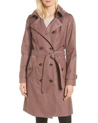 Knee length trench coat medium 8649502