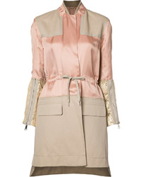 No.21 No21 Panelled Trench Coat