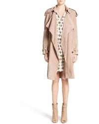 Sanbridges suede wrap trench medium 3670466