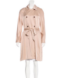 The Row Silk Trench Coat