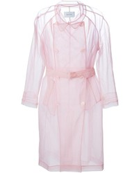 Simone Rocha Transparent Trench Coat