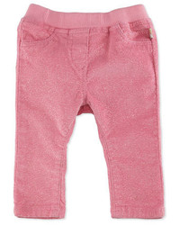 Billieblush Glittered Stretch Corduroy Pants Pink Size 12 18 Months