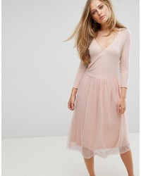 Vero Moda Wrap Tulle Skirt Dress