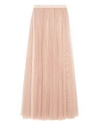 Needle & Thread Tulle Maxi Skirt Blush