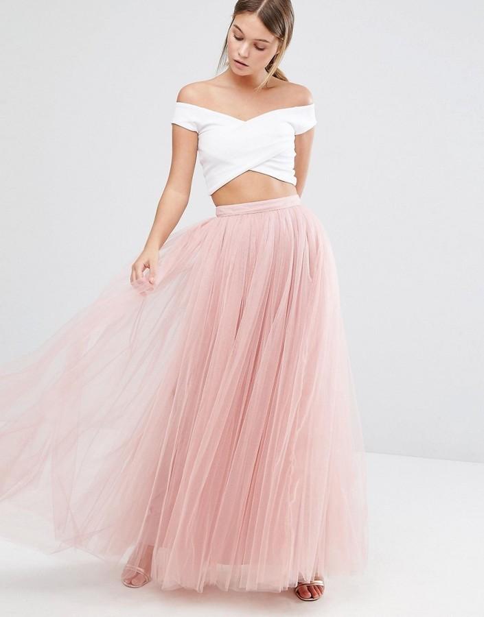 3c12f847d6 Little Mistress Tulle Maxi Skirt, $76 | Asos | Lookastic.com