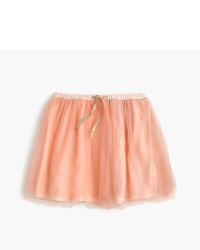 J.Crew Girls Two Tone Tulle Skirt