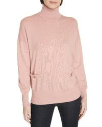 kate spade new york Haya Pocket Turtleneck Sweater