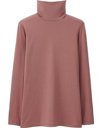 Uniqlo Heattech Turtleneck T Shirt