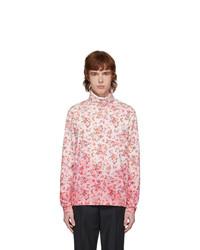 Acne Studios Pink Floral Turtleneck