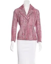 Silk tweed blazer medium 3933515