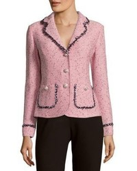 St. John Village Tweed Blazer Jacket
