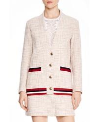 Sandro Adelaide Tweed Jacket
