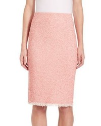 Rebecca Taylor Summer Tweed Pencil Skirt