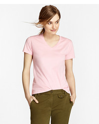 Brooks Brothers Gart Dyed V Neck T Shirt