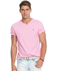 Polo Ralph Lauren Jersey V Neck T Shirt f2240450b53a