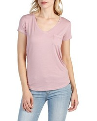 Lynnea v neck pocket tee medium 3944093