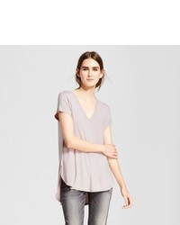Mossimo Short Sleeve Center Seam T Shirt Pink