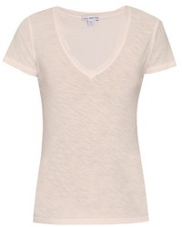 James Perse V Neck Cotton T Shirt