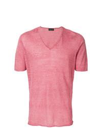 Roberto Collina V Neck T Shirt