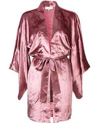 Fleur Du Mal Velvet Haori Kimono